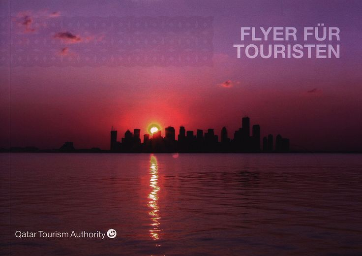 https://flic.kr/p/DBpiTV | Flyer für Touristen; Qatar Tourism Authority; 2015_1 | tourism travel brochure | by worldtravellib World Travel library