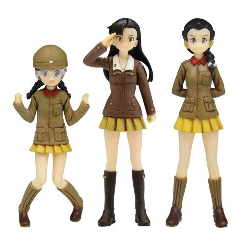 Girls und Panzer der Film Chihatan Academy Figure Set - 1/35 Scale
