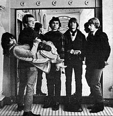 1965 Grace Slick & The Great Society were a 1960s San Francisco rock band that existed from 1965 to 1966, and were closely associated with the burgeoning Bay Area acid rock scene. Best known as the original group of model-turned-singer Grace Slick, the initial line-up of the band also featured her then-husband Jerry Slick on drums, his brother Darby Slick on guitar, David Miner on vocals and guitar, Bard DuPont on bass, and Peter van Gelder on flute, bass, and saxophone.