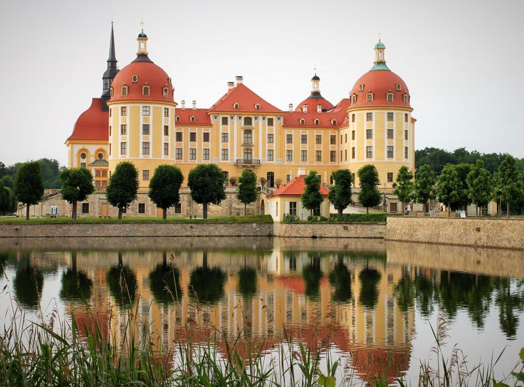 Moritzburg castle near Dresden, Germany.
