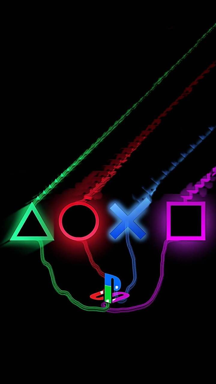 Playstation 4 1tb Console In 2020 Playstation Logo Playstation Tattoo Best Gaming Wallpapers