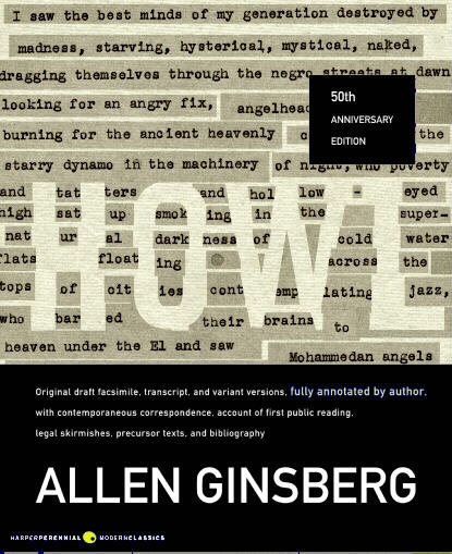 howl kaddish by allen ginsberg Allen ginsberg was elected king of the may by czech allen spoke of life's simulacrum of a report of his and in howl and kaddish you were working with a.