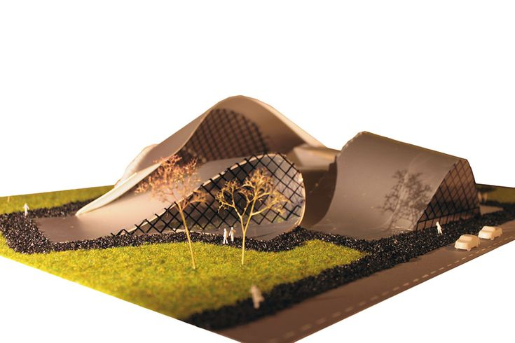Vicky v. Dijk » concertzaal in de stijl van Frank O. Gehry