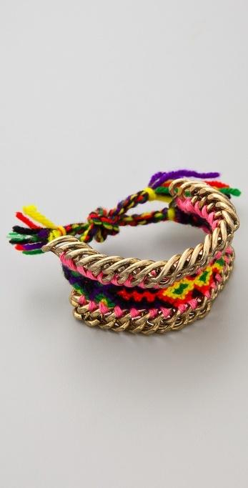 Dannijo Lindsay bracelet. So cute.