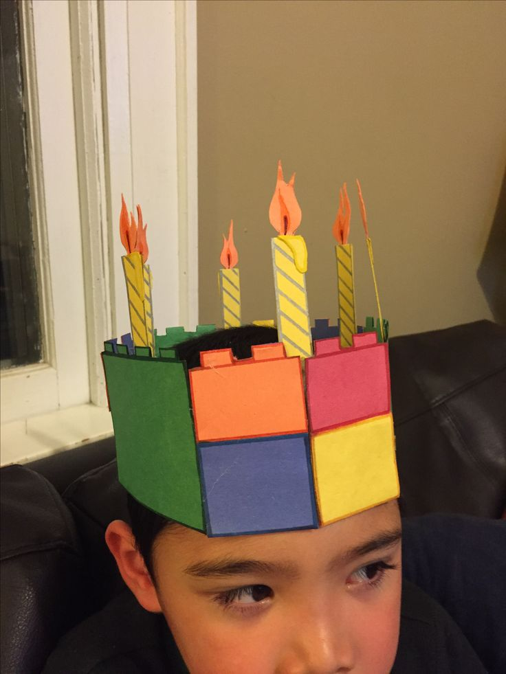 6th Birthday Lego crown