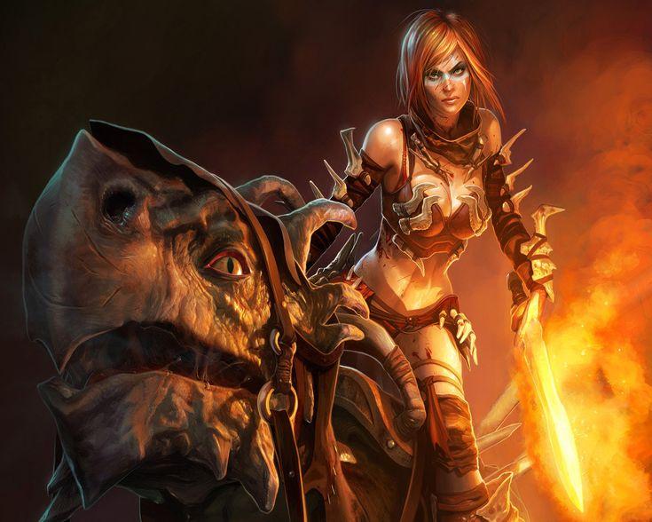 dragon brave fantasy warrior - photo #40