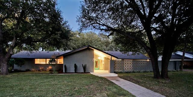 Pin by meghan wise on mid century modern homes pinterest for Mid century modern homes dallas