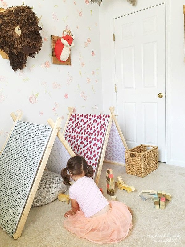 DIY A Frame Tent - Farmhouse Indoor Style Kids Camping Room | "|600|800|?|en|2|4213b696f51a661031df38e20fe9381a|False|UNLIKELY|0.3404969871044159