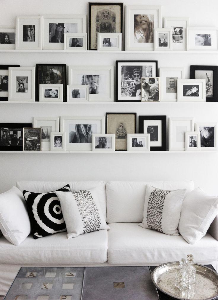25+ Best Ideas About Photo Walls On Pinterest | Hallway Ideas