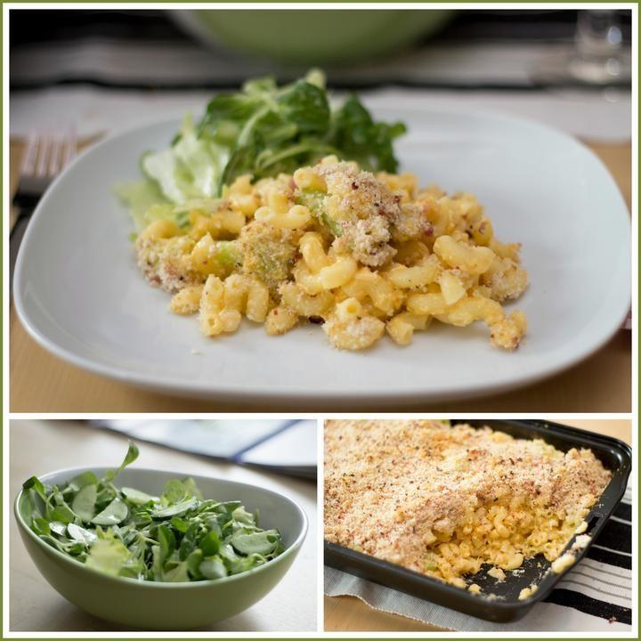 Rádi jíme - aneb vaření a pečení u nás doma - Květákové makarony, salát se zelenou zálivkou - Jamie Oliver - Album uživatelky zzuzziik - Foto 75