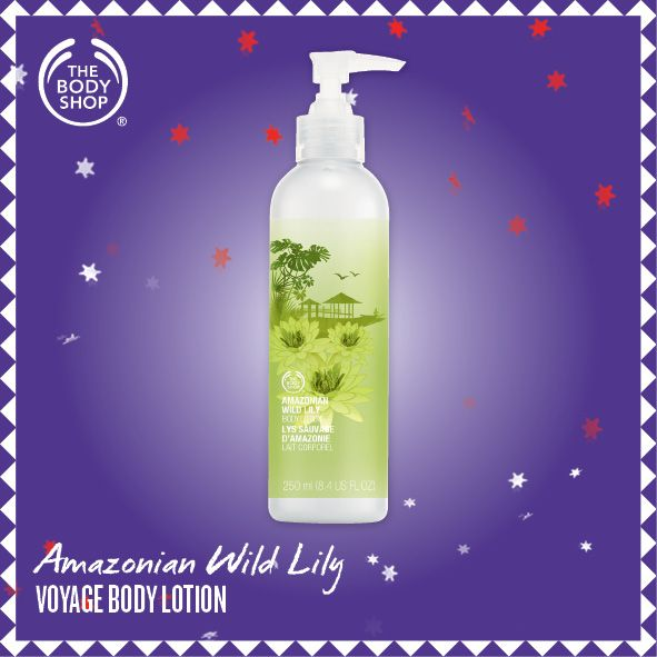 Amazonian Wild Lily Voyage Body Lotion