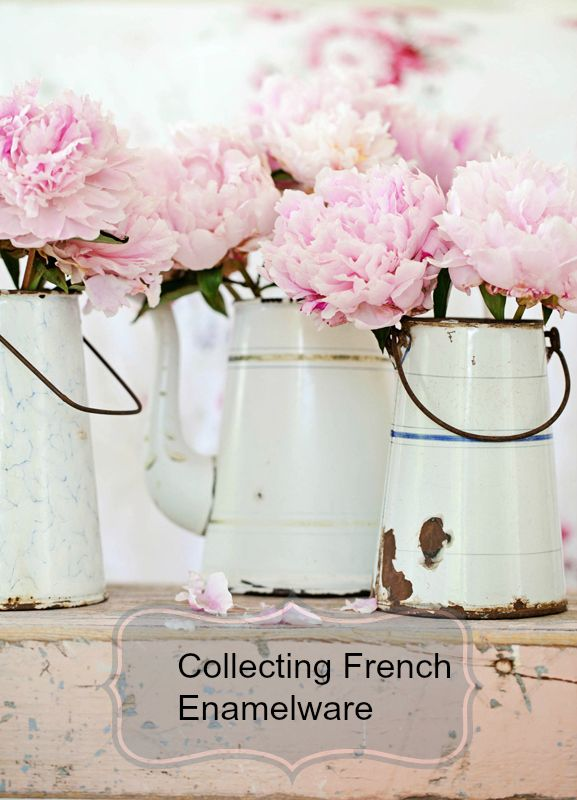 Collecting French enamelware and how to display it http://www.ebay.com/gds/Collecting-French-Enamelware-/10000000205283719/g.html?roken2=ti.pSmFuZXQgQ29vbg==