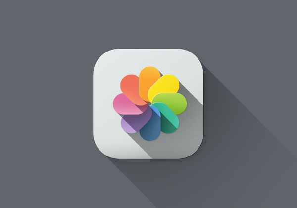 iOS 7 Long Shadow 2 iOS 7 Long Shadow Redesign