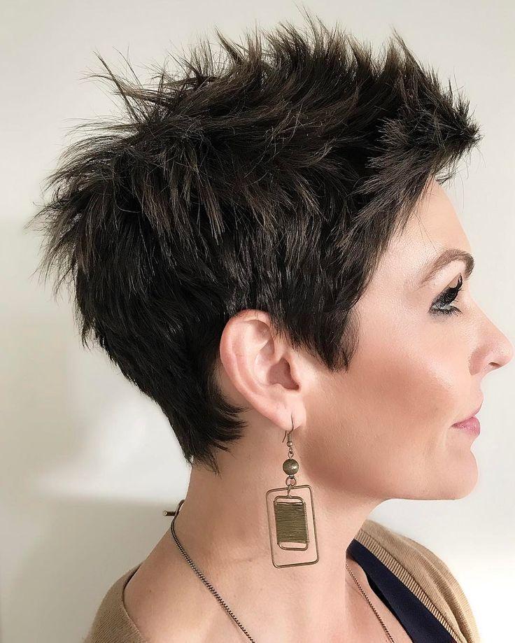 50 Best New Hairstyles In 2017 Check More At Hairstylezz Com Kurzhaarfrisure Kurzhaarfrisurendamen The Post Frisuren Kurz Haarschnitt Kurz Kurzhaarfrisuren