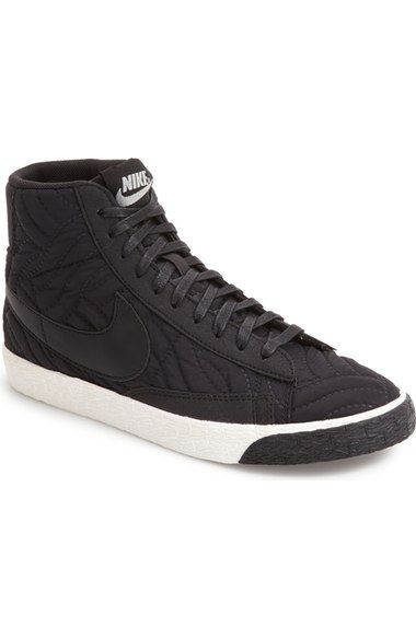 On SALE at OFF! blazer high top sneaker by Nike. Quilted texturing and  smooth suede accents enhance the street-savvy cool of an old-school high-top  sneaker.