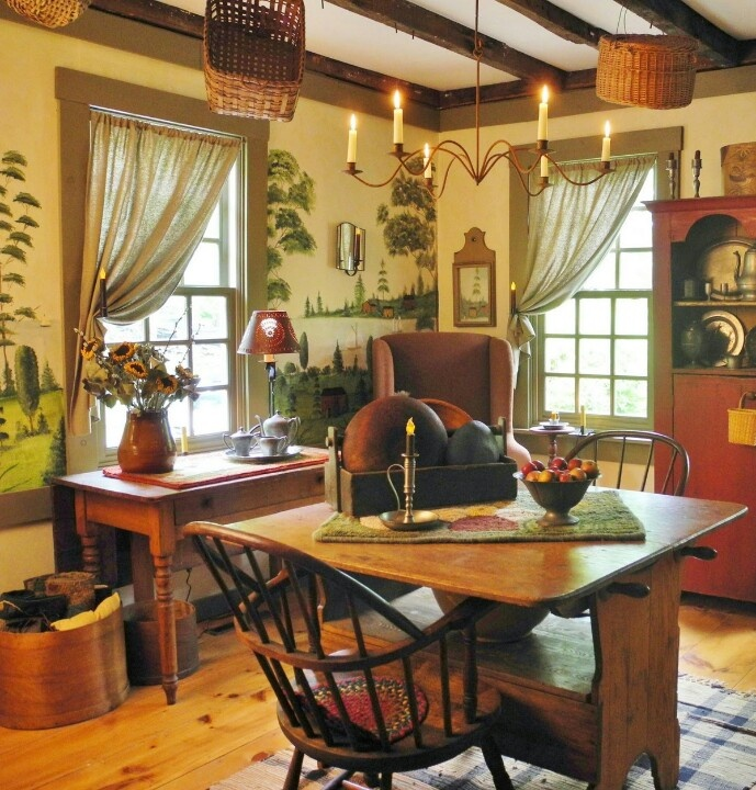 Country Decorating Ideas Magazine: 1000+ Images About COUNTRY, PRIMATIVE, COLONIAL, MURALS
