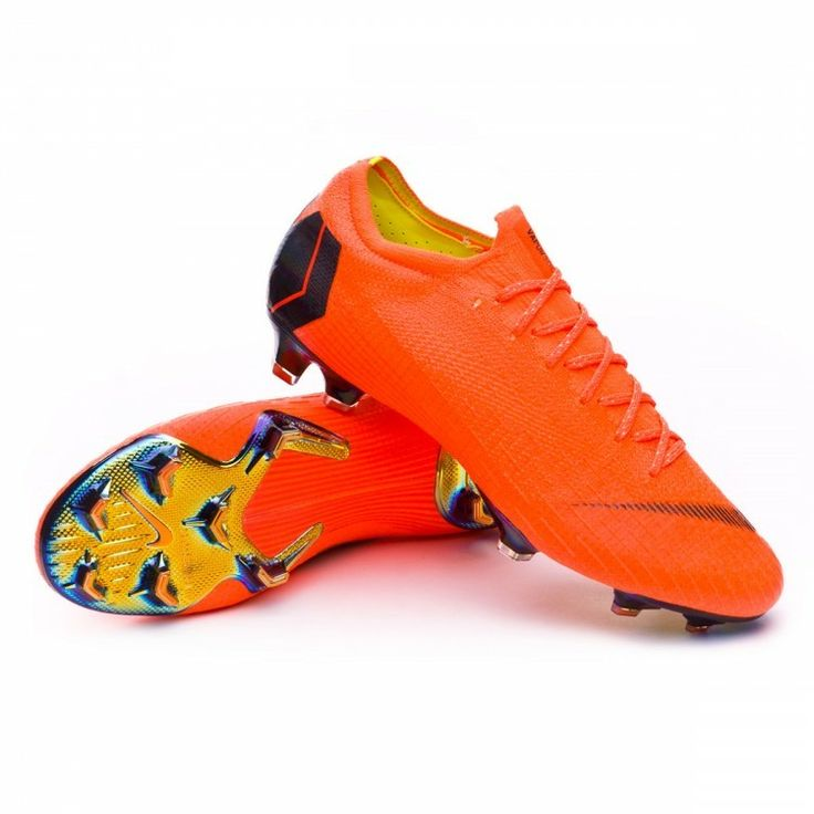 ZAPATOS DE FÚTBOL NIKE MERCURIAL VAPOR XII ELITE FG Total orange-Black-Volt
