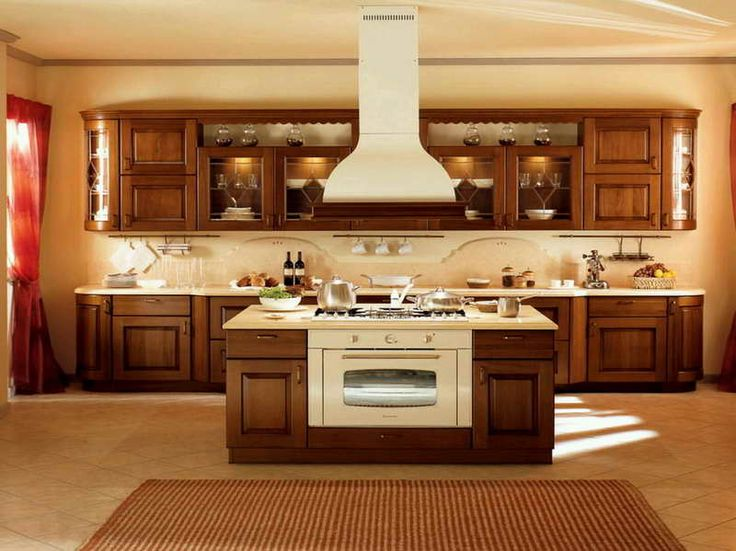The right kitchen decoration cabinets layouts with sharp carpet