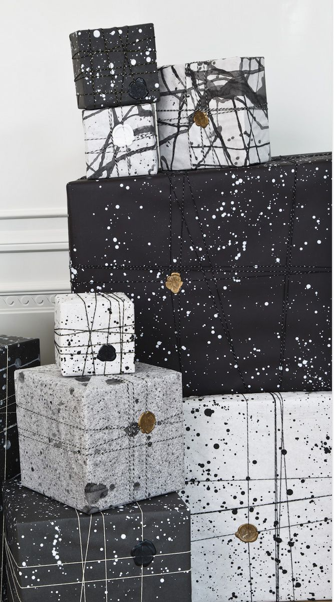 KELLY WEARSTLER | LUXE HANDCRAFTED GIFTWRAPPING. Handmade giftwrap available for all orders