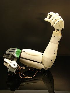 InMoov: The Open Source 3D printable Adruino based humanoid robot