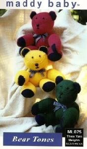 Maddy Baby ML075 Bear Tones