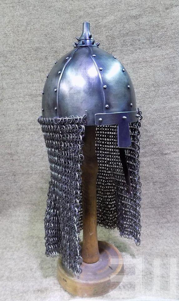 Степные воины из эпохи миграции - 14. Век – 259 photos Reconstruction Khazar Helmet Kazazovo