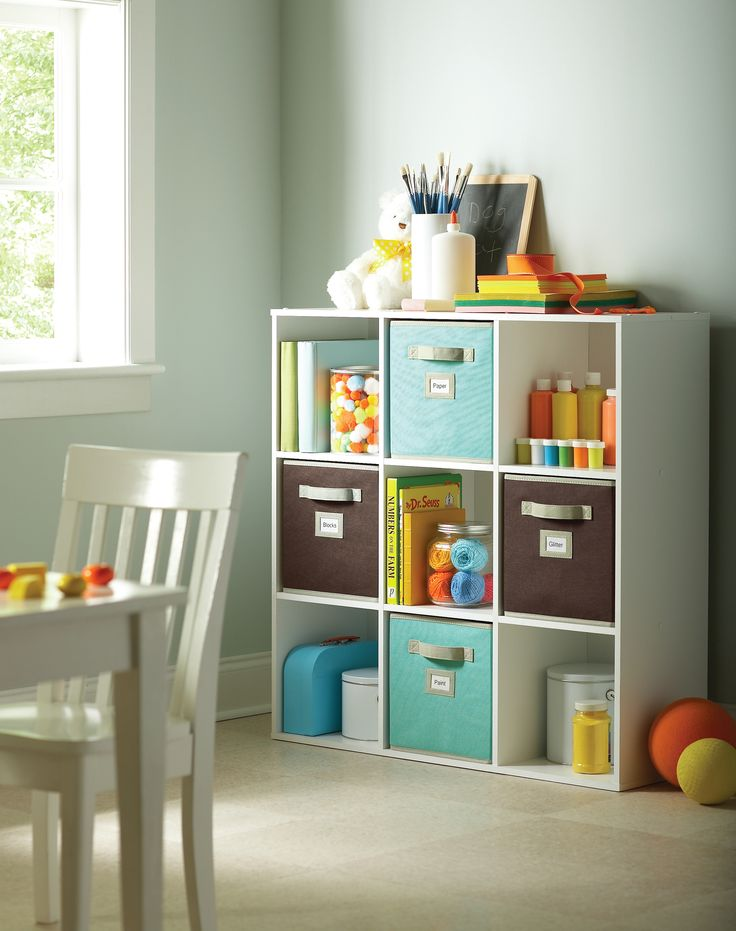 For Endless Storage Possiblities, Organize Babyu0027s Essentials With The  @Martha Stewart Living 9