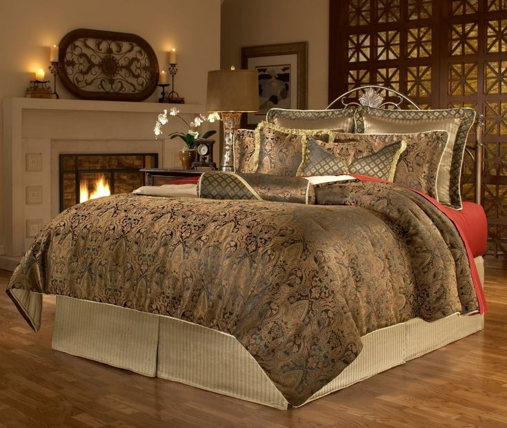 Elegant victorian bedding bedroom decor pinterest Elegant master bedroom bedding