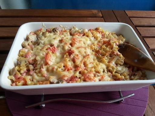 Gratin+de+pâtes+moelleux,+facile+et+pas+cher+-+Recette+de+cuisine+Marmiton+:+une+recette