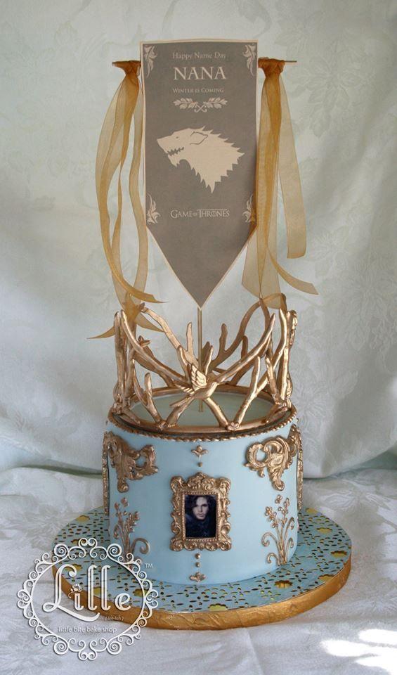 Top 10 des gâteaux Game of Thrones les plus cools, ceux qui inspirent le respect