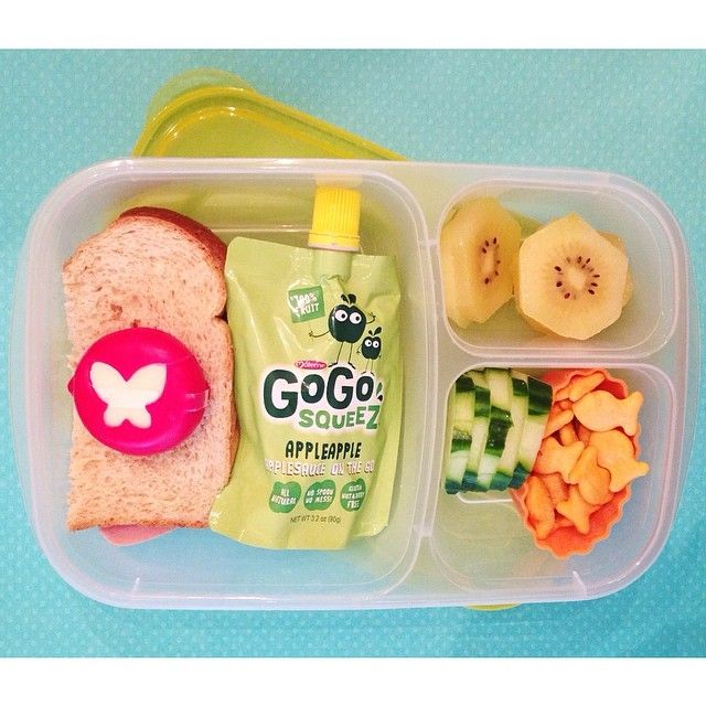 Quick and easy lunch today! - packed in Easy Lunch Box container