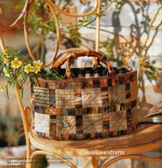 Patchwork bag by Yoko Saito