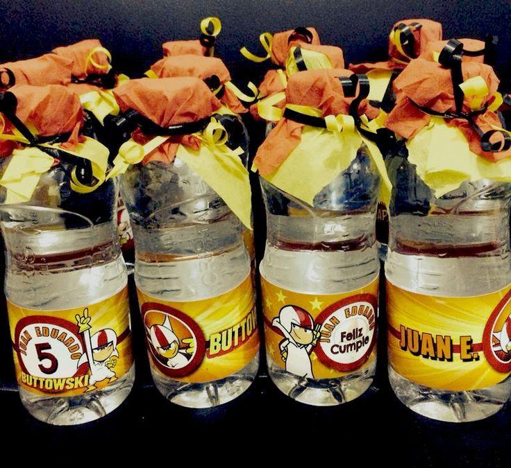 Fiesta Kick Buttowski - Fiesta Kick Buttowski - Party Labels - Ideas fiestas Kick Buttowski - Etiquetas para fiestas personalizadas - Botellas de agua para fiestas de Kick Buttowski
