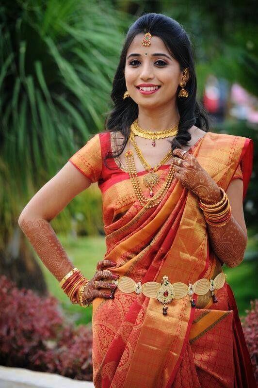 marriage silk saree - Google Search