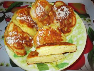 Racuszki z maślanki z dodatkiem jabłek | Tradycyjna kuchnia