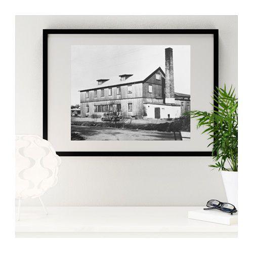 RIBBA Frame black black 19 x27 | Home Design Blog | Pinterest ...