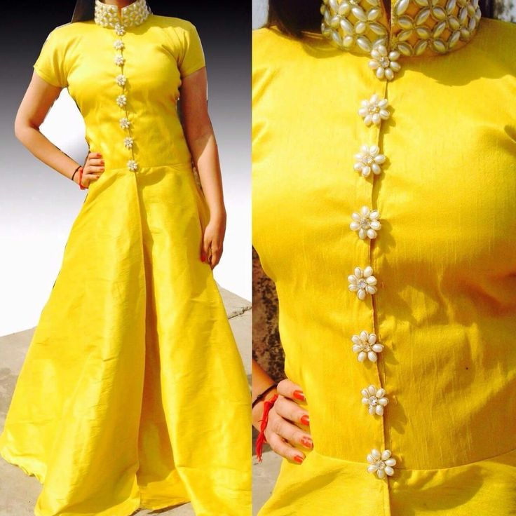 yellow love! kurti