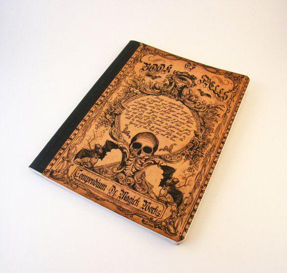 Grimoire altéré la Composition Notebook Journal par dynamicalley