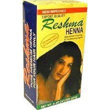 Jamila or Reshma brand Henna for hair growth, hair fall, and all natural hair dye