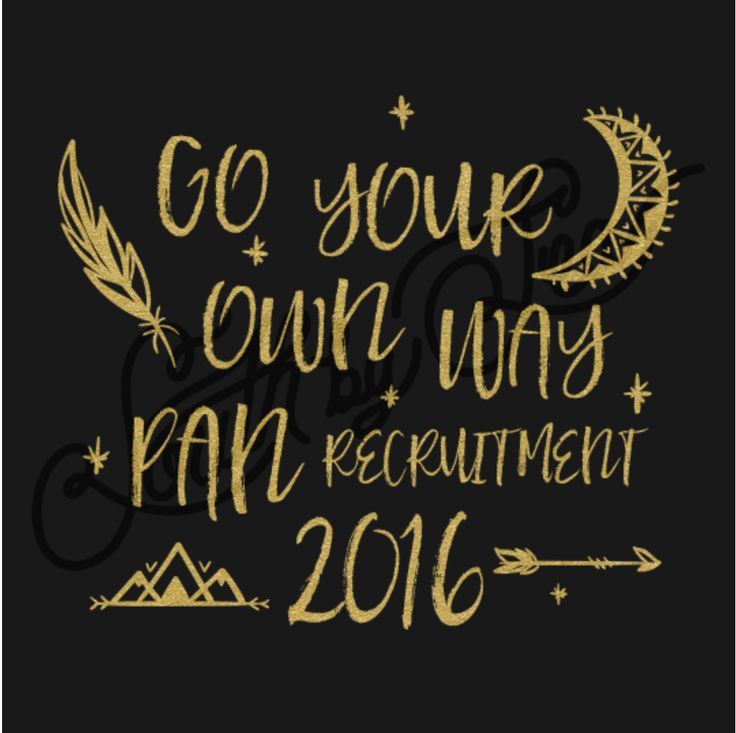 Panhellenic Recruitment | Go Your Own Way | Gold Foil Design | Tribal Design | Arrow | South by Sea | Greek Tee Shirts | Greek Tank Tops | Custom Apparel Design | Custom Greek Apparel | Sorority Tee Shirts | Sorority Tanks | Sorority Shirt Designs