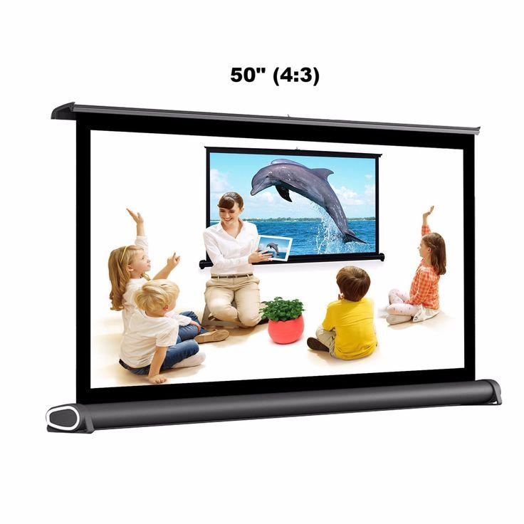"LumiScreen™ - Portable Projector Screen 50"" (4:3)"