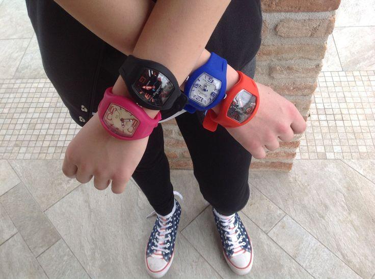 orologi in silicone vari colori