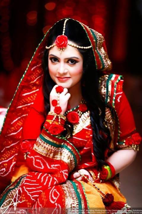 Gaye Holud Bengali BrideBridal JewelleryWedding JewelryWedding Stage Wedding PhotosFlower JewelryFresh