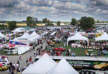 Corvette Funfest at Mid America Motorworks in Effingham, Illinois.
