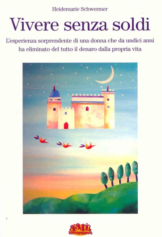 Vivere senza soldi - book cover by Tiziana Rinaldi