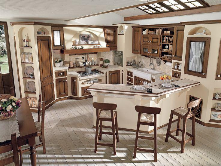 Oltre 25 fantastiche idee su arredamento antico cucina su for Planimetrie in stile country