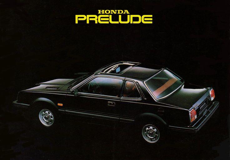 Honda Prelude Mk1 Sweden Brochure 1979