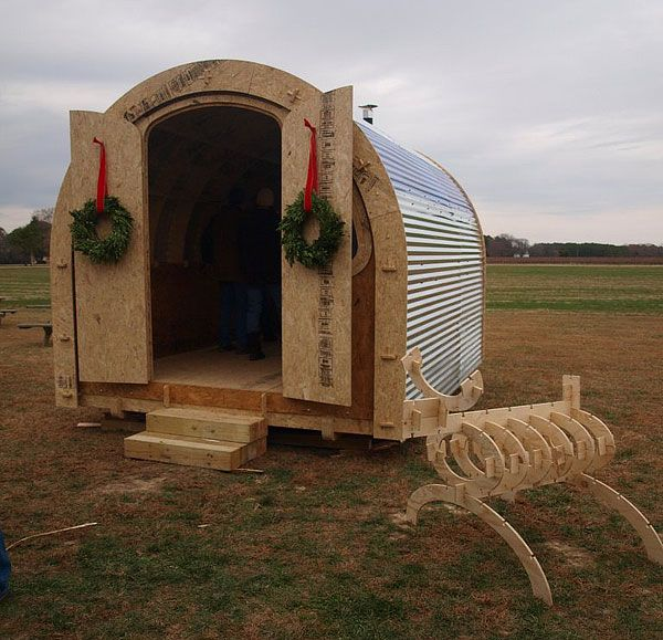1000 images about emergency shelters on pinterest for Rv shelter canada