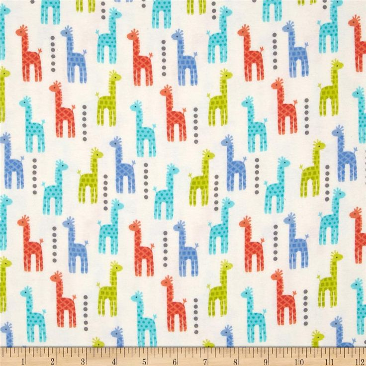 Michael Miller Baby Flannel Zoo Littles -It's a Boy Thing- Blue from @fabricdotcom  Designed by Michael Miller fabrics, this single napped (brushed on face side) flannel fabric is perfect for quilting, apparel and home décor accents. Colors include orange, blue, white, and green.