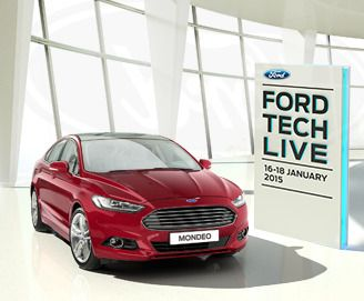 #FordTechLive is at Essex Ford dealerships in Basildon, Billericay, Lakeside, Rayleigh and Southend on January 16/17/18th 2015.  Try the latest tech!